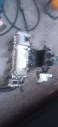 Cabeçote do Siena completo com tbi e coletor e sensores
