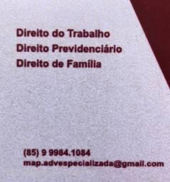 Advogada Trabalhista, Previdenciária e Família