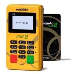 Máquina de cartão Minizinha Chip2
