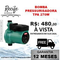 Pressurizador Bomba de água Pressurizadora 270W