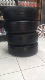 4 roda de ferro com pneu