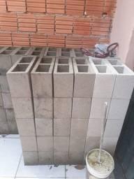 Tijolo de bloco de cimento