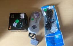 Kit Super Nintendo Snes Novo na embalagem Completo Leia Anuncio