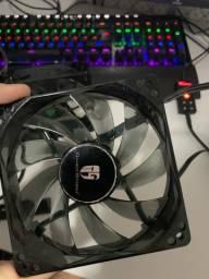 2 fans para computador
