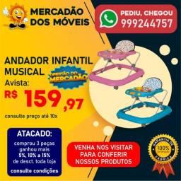 Andajá Infantil Novo Rosa/Azul