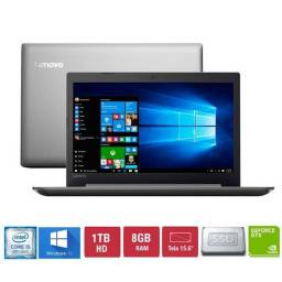 Notebook lenovo Ideapad 330 I5 placa dedicada MX150 SSD240GB e HD 1tb