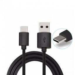 Cabo USB Tipo C Preto- Pronta Entrega