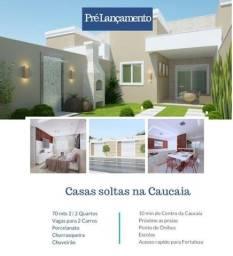 Linda casa com fino acabamento e ótima localização - 2 quartos