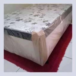 Loja virtual- vendo e entrego cama box casal nova de mola = entrega grátis