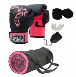 Kit luva de Muay Thai/Box