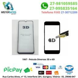 1067 - Peicula Diversas 3D e 6D, Consulte os Modelos Disponiveis