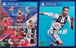 Título do anúncio: Pacote FIFA 19 + pes 2020