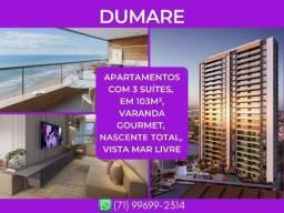 Dumare, 3 suítes, apartamento com 103m² - Surreal