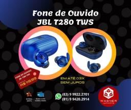 ? Promoção? ? Fone de Ouvido Bluetooth JBL-T280 TWS 5.0 Esportivo ?