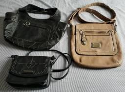 Bolsas Usadas com pequenos detalhes