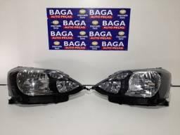 Par Farol Toyota Etios 2017 2018 2019 2020 Máscara Negra Original