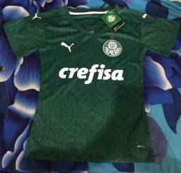 Camisa feminina Palmeiras