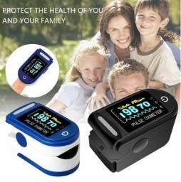 Oximetro Digital de Dedo Oxigenador de sangue Portátil Entrega Grátis