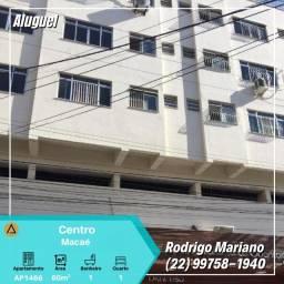 Alugo excelente apartamento com 01 quartos no Centro de Macaé-Rj