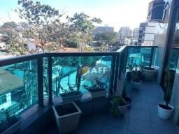 Título do anúncio: Apartamento com 3 dormitórios à venda, 132 m² por R$ 950.000,00 - Passagem - Cabo Frio/RJ