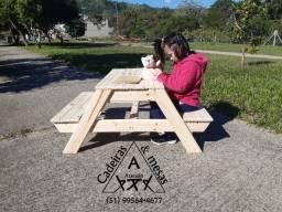 Mesa Infantil picnic (piquenique)