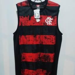 Título do anúncio: Camisas Do Flamengo regatas licenciadas