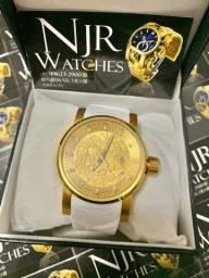 Relógio Invicta yakusa branco automatico novo