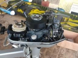 Título do anúncio: motor popa 5 hp - 4T - honda