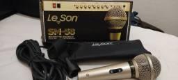 Vendo Kit microfone Leson SM - 58