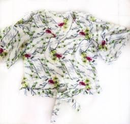 blusa feminina estampada
