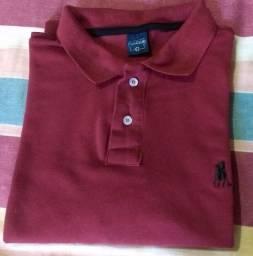 Camisa Polo Marsala