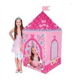 Barraca Cabana Toca Infantil Castelo Da Princesa Love Dm Toy