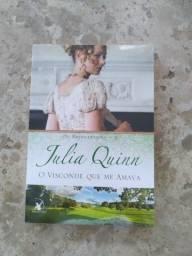 """Livro """"O Visconde que me Amava"""", volume 2 de Bridgerton, de Julia Quinn"""