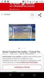 Rede de futebol de salão