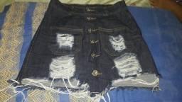 Vendo saia jeans  nova tamanho  36