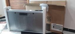 Depurador de Ar Consul 80 cm Inox 5 e 6 bocas silencioso com filtro lavável<br><br>