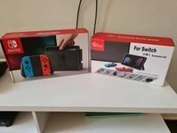 Nintendo Switch V1 Desbloqueado + Pro Controller + 256gb