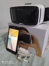 J7 prime 32Gb + óculos de realidade virtual