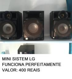 Título do anúncio: mini sistem - som valor: 400 reais