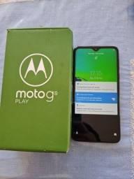 Motorola moto G8 play 32gb, semi novo.