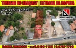 Terreno no Araçagy | 180m² | Prox. ao Posto Pirâmide | me chama no whatsapp