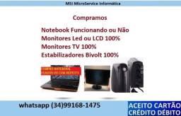 Monitores, Computadores, Notebook e peças (com-pra)