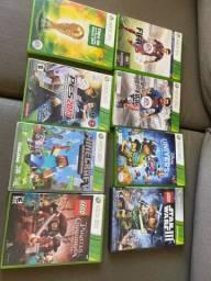 8 jogos XBOX 360