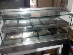 Estufa Vidro Reto medindo 0.90x45x45cm- Alto Padrão