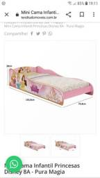 Título do anúncio: Mini cama infantil princesas