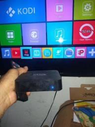 Mx9 via wi-fi assista filme YouTube ect tv com saída HDMI