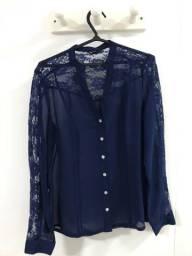 Blusa Zara com Renda P