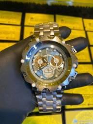 Relógio Invicta New hybrid prata novo