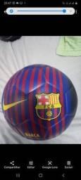 Bola Barcelona futebol marca nike 35 reais