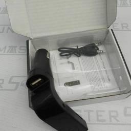 Transmissor veicular. FM  com Bluetooth. Novo.